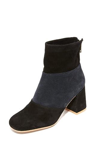 See by Chloe Damen Stiefeletten SB27170 Schuhe Blau Leder