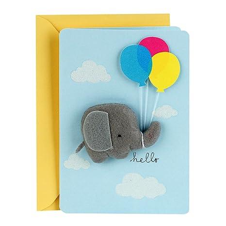 Amazon.com: Hallmark - Tarjeta de felicitación para bebé ...