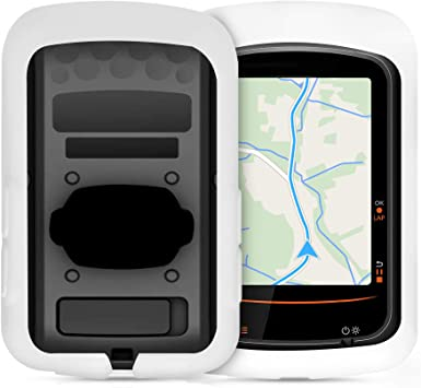 Soft Silicone Bike GPS Navigation System Protective Cover Black kwmobile Case Compatible with Bryton Rider One