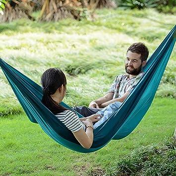 Amazon.com: HW Hamaca para Acampar, Hamaca Al Aire Libre ...