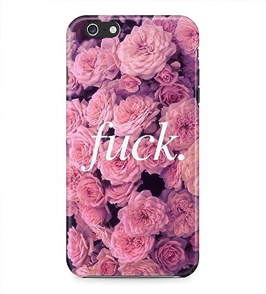 Fuck Quote Pink Roses Floral Tumblr Retro Rad Indie Boho Hard