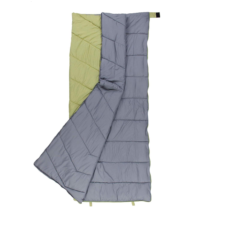 10T Outdoor Equipment 10T Seth Saco de Dormir de Manta, Verde, Estándar: Amazon.es: Deportes y aire libre