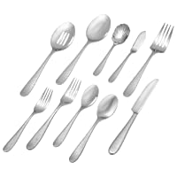 Deals on Stone & Beam 65-Piece Flatware Set Service for 12