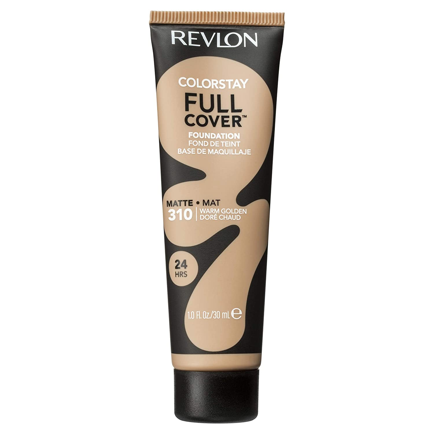 Revlon Color stay full cover foundation, warm golden, full coverage, matte finish, 30ml 1335-08