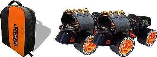 Jaspo Big Boss Adjustable Quad Roller Skates Suitable for Age Group 6-14 Years Old