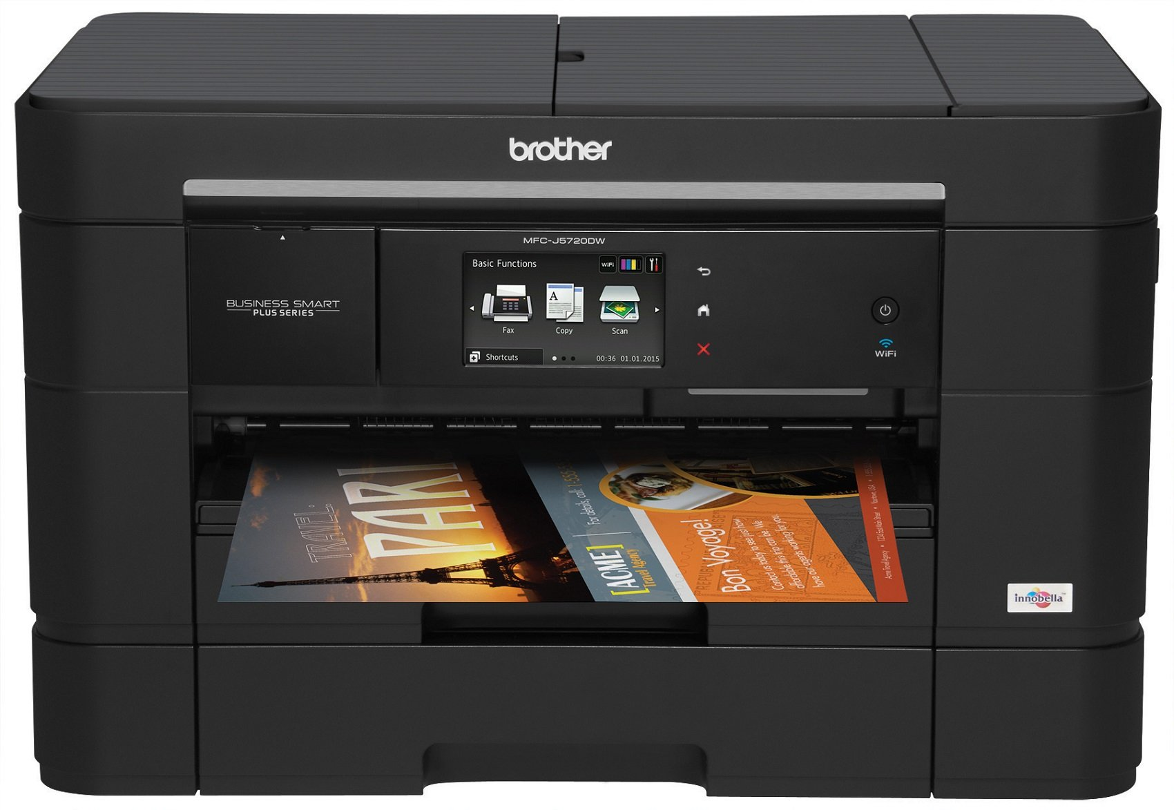 Brother Business Smart MFCJ5720DW All-in-One Color Inkjet Printer with Fax, Amazon Dash Replenishment Enabled