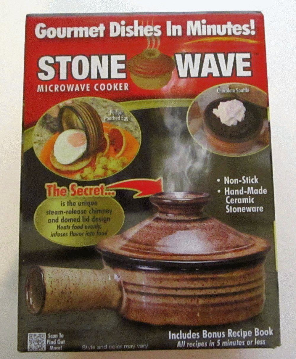 Telebrands Stone Wave Microwave Cooker