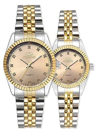 Amazon.com: Swiss Brand - Reloj de dos tonos para hombre y ...
