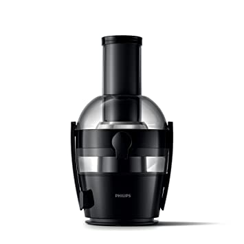 Philips Viva Collection HR1855/06 - Exprimidor (Licuadora centrífuga, Negro, 1,2 L, 0,8 L, 2 L, 7,5 cm): Amazon.es: Hogar