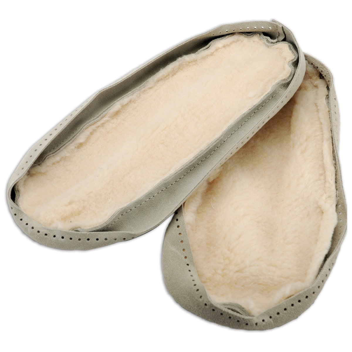 Boye 103538 Starting Points Suede Slipper Soles Large One Pair
