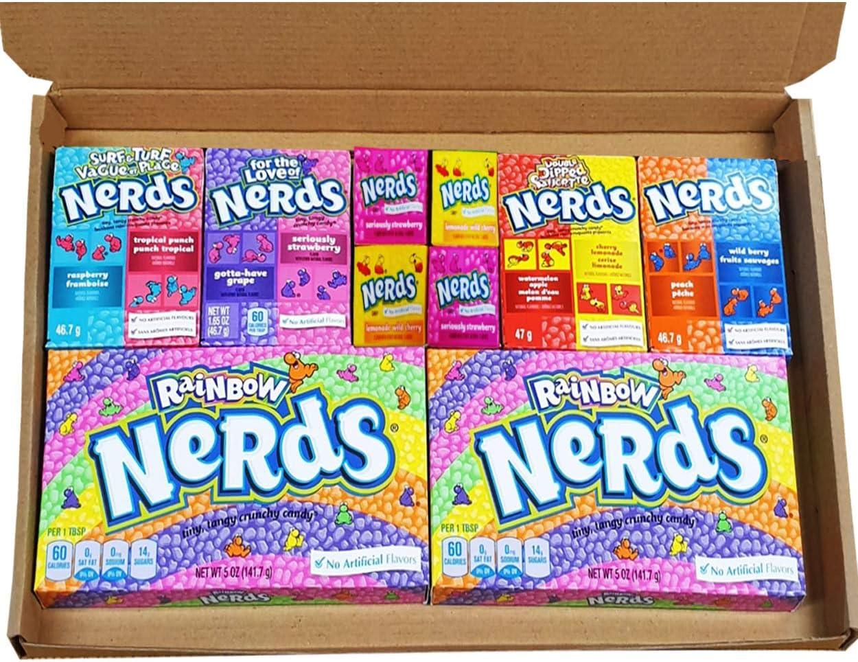 Nerds American Sweets Selection Box Retro Sweets Caja de dulces ...