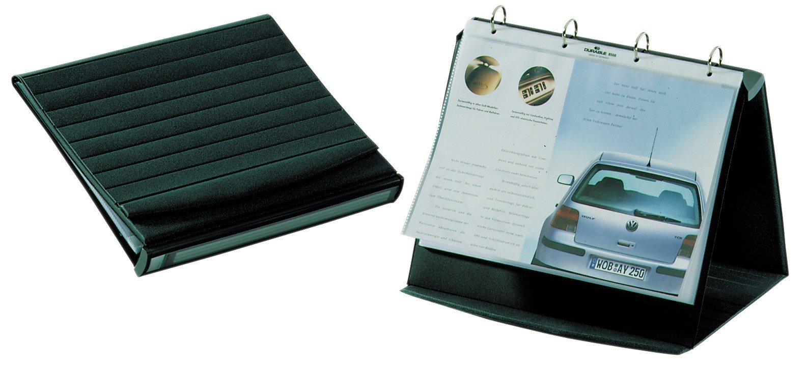 Durable A3 Landscape Durastar Table Top Presenter by Durable