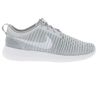 online store 93953 0158e Nike Men s Roshe Two Flyknit, Wolf Grey White-Stadium Green, 10. 5 M US   Buy Online at Low Prices in India - Amazon.in