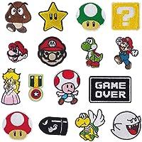 Parches de planchado para videojuegos de Super Mario
