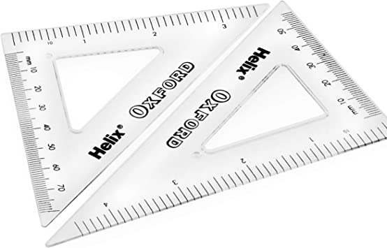 Protractor Ruler Helix Oxford Camo Maths Set Set Squares Eraser Compass and Pencil Limited Edition 9 Piece Set Sharpener