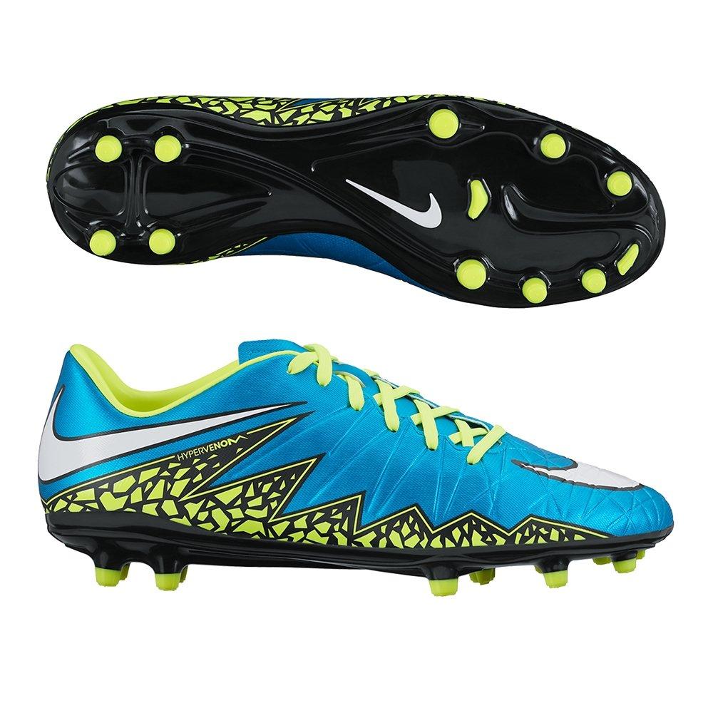tolerancia hemisferio pálido  Buy Nike Women's Hypervenom Phelon II FG - Blue Lagoon/White/Volt/Black 9.5  at Amazon.in