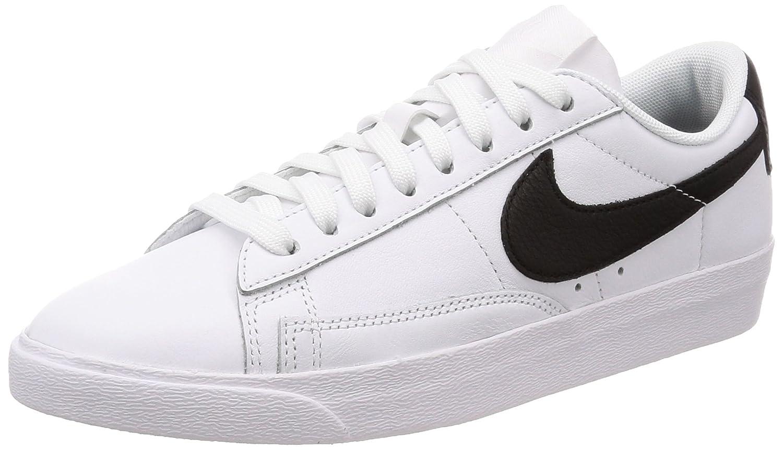 Nike W Blazer Low Le, Zapatillas de Gimnasia para Mujer 40.5 EU|Blanco (White/Black 111)