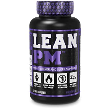 Lean Pm Night Time Fat Burner Sleep Aid Supplement Appetite Suppressant For Men And Women