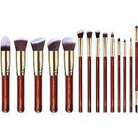 ALUX TREND 14 Pcs Premium Quality Makeup Brush Set, Premium Powder Brush Foundation Brush Blending Concealers blush Eye…