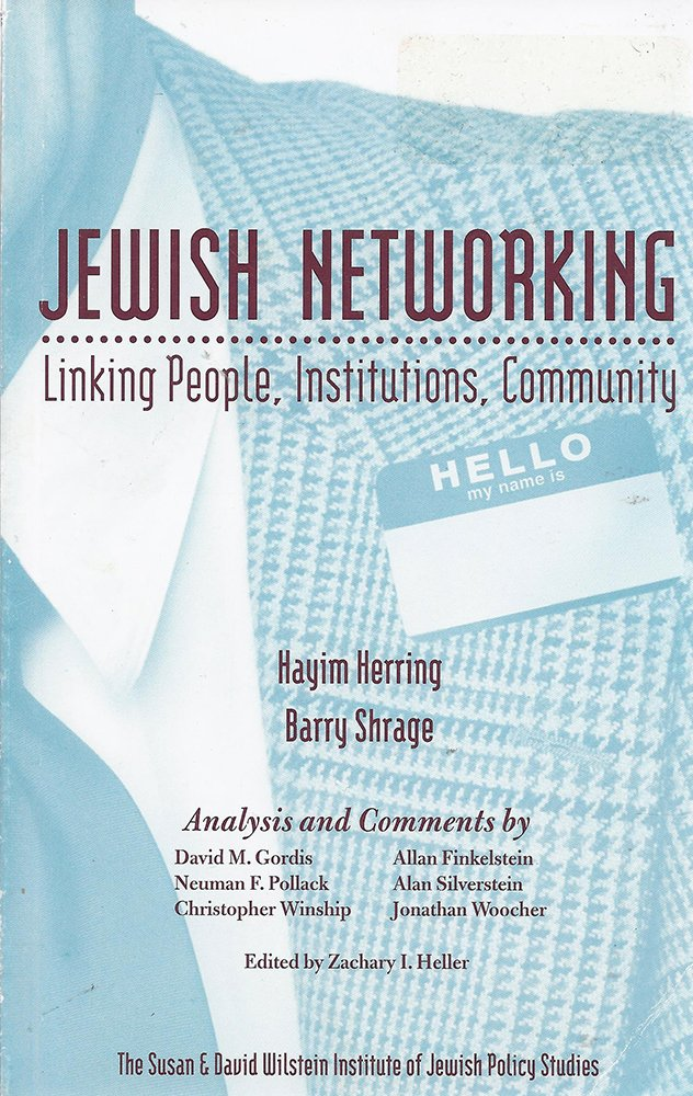 Download Jewish Networking: Linking People, Institutions, Community pdf
