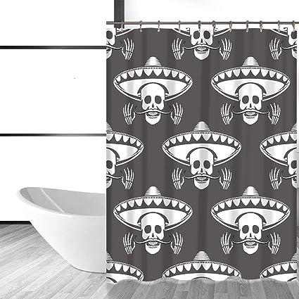acheter rideau de douche tete de mort online 21