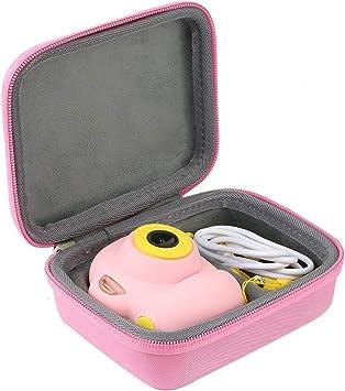 Khanka Duro Viaje Estuche Bolso Funda para Cámara de niños ToyZoom(Case Only)(Rosa): Amazon.es: Juguetes y juegos