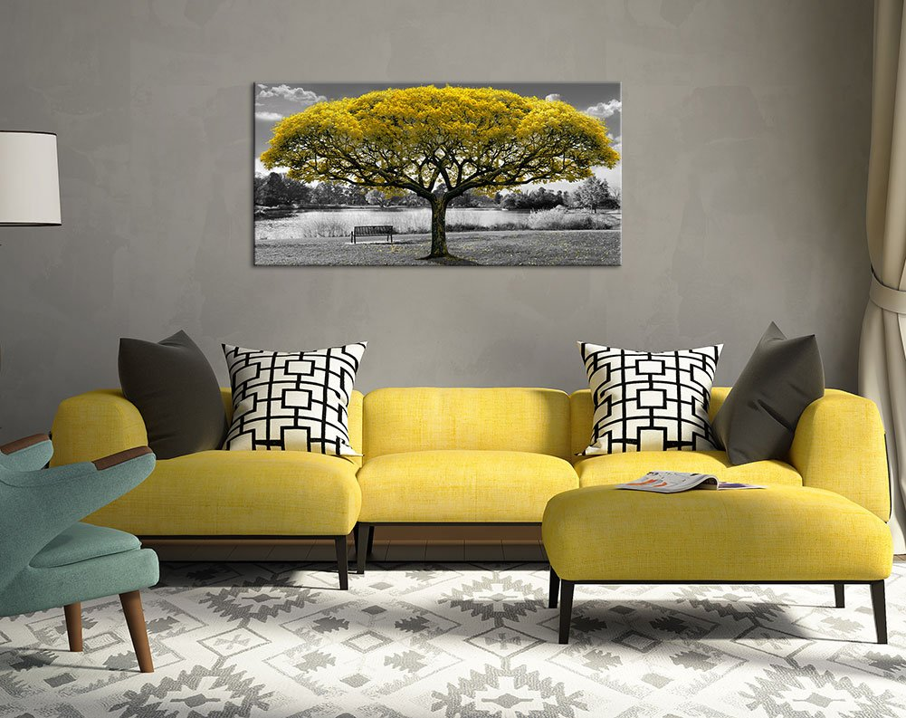 Amazon.com: Canvas Wall Art for Living Room Large Print Picture ...