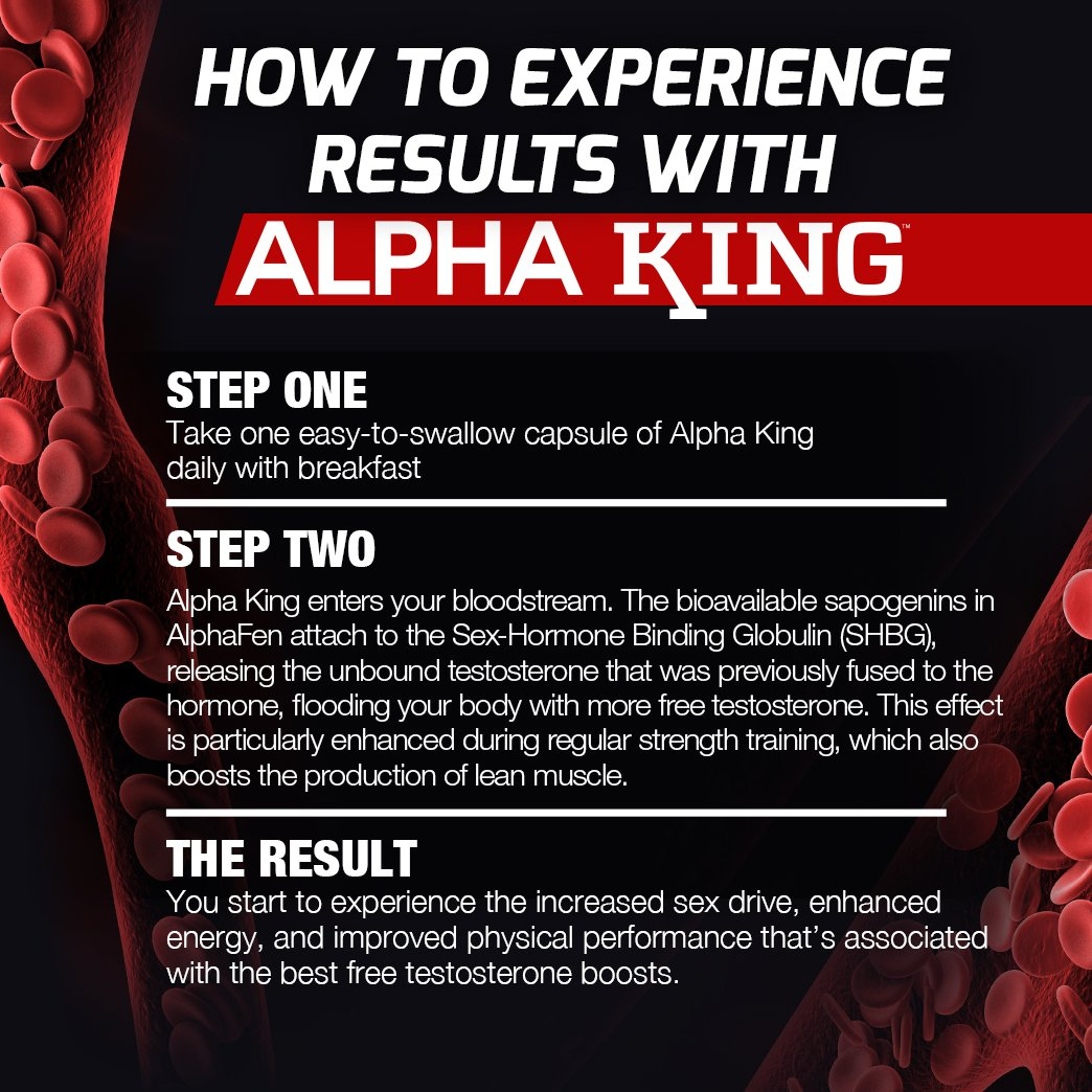 Amazon com: Force Factor Alpha King Testosterone Booster