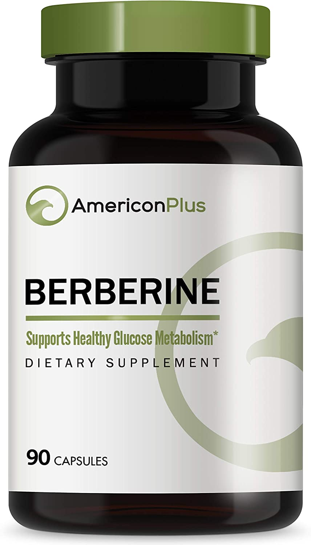 Berberine 500mg: Blood Sugar Stabilizer - Lower Blood Sugar; 90 Caps Berberine HCl