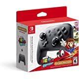Nintendo Switch Pro Controller con Super Mario Odyssey Código de descarga de juego completo