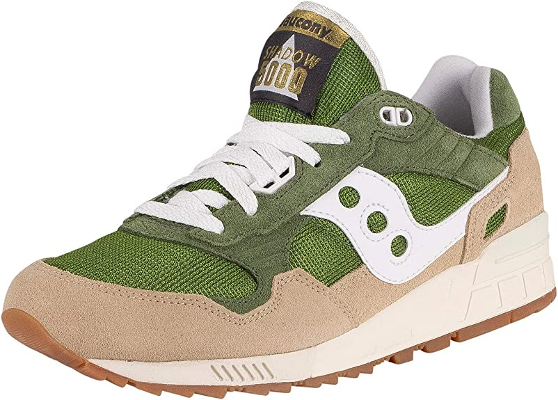 Saucony Shadow 5000 Green/Brown Track