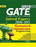 Gate Paper Electronics & Communication Engineering 2016: Solved Papers 2000 - 2015