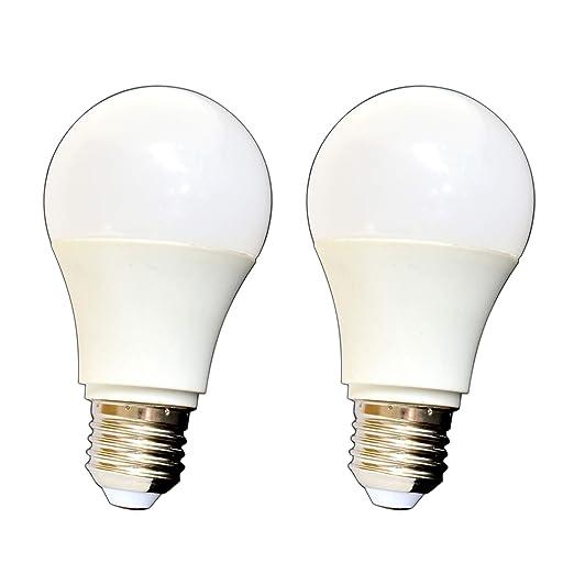 E27 Bombilla LED Pera, Juego de 10 W regulable bombilla lámpara regulador, plástico,