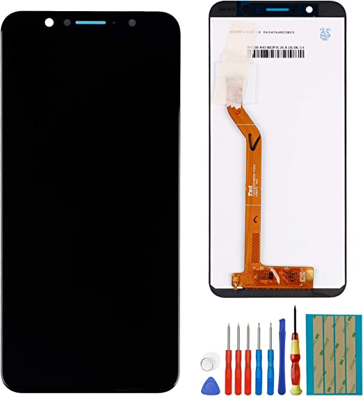 New LCD Screen Compatible with Asus ZenFone Max Pro M1 ZB601KL ZB602KL LCD Touch Screen Display Assembly Tools(Black)