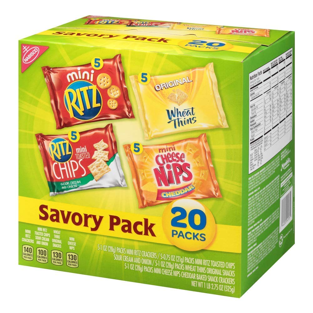 Amazon.com: Nabisco Savory Crackers Mix, paquete variado con ...