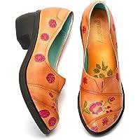 gracosy Mocasines Zapatos para Mujer de Cuero Calzado