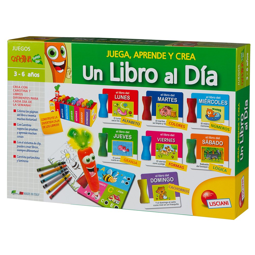 ColorBaby - 1 libro al día, juego de actividades (40644): Amazon.es: Juguetes y juegos