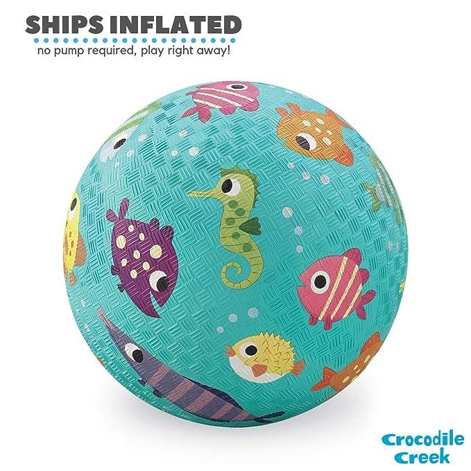 Crocodile Creek - Fish Playground Ball - Balón de Goma Natural ...
