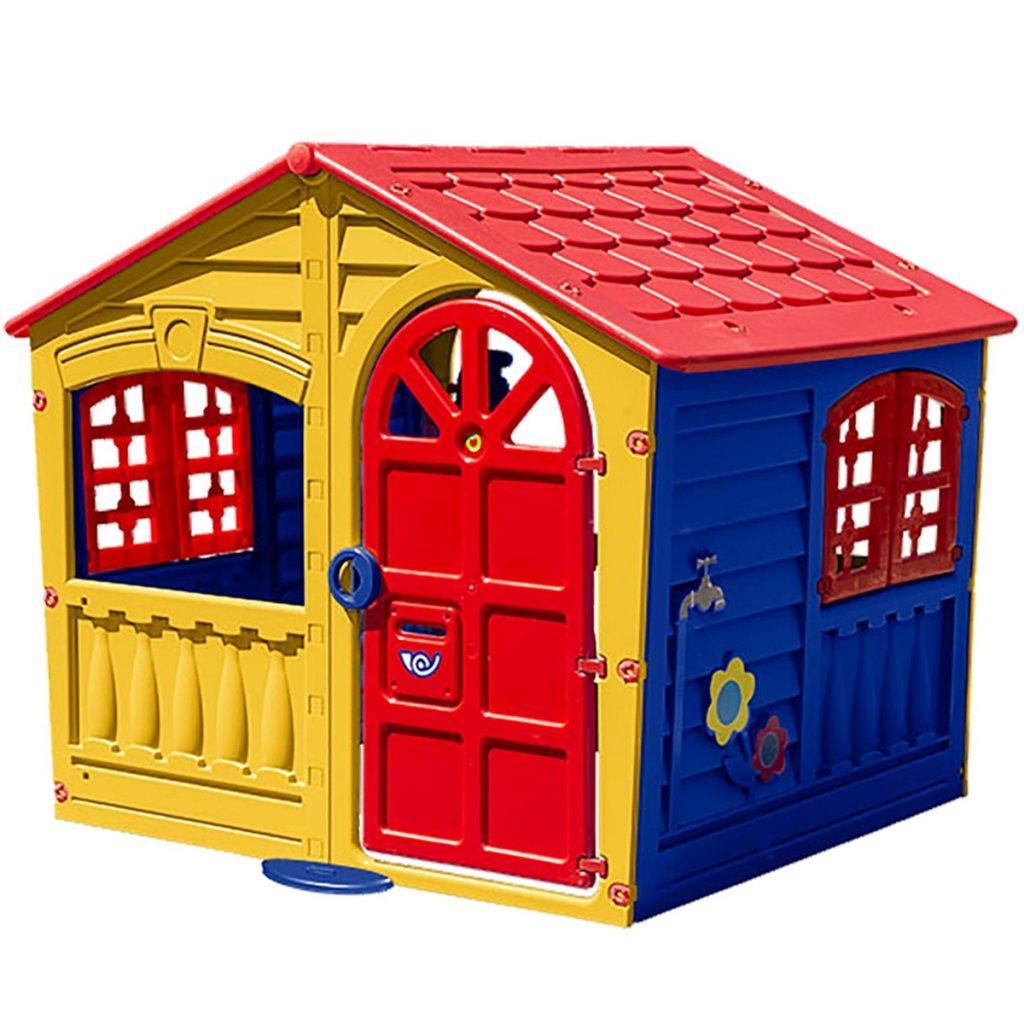 Palplay 0716049 - Spielhaus Fun Uni, mehrfarbig