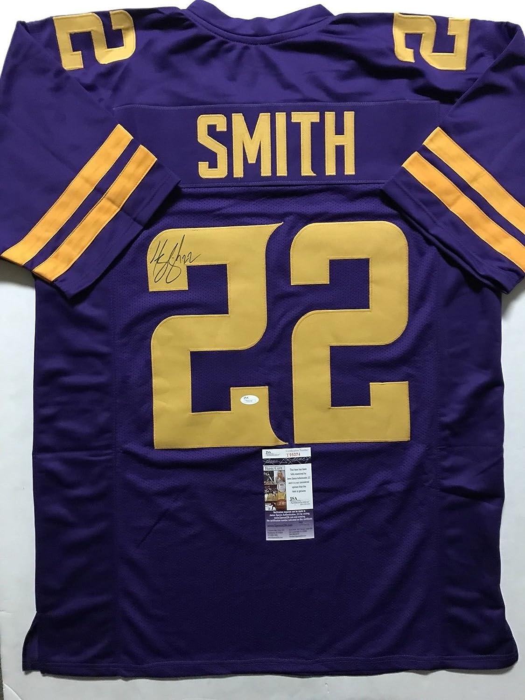 new arrivals a7a90 3a4e7 Autographed//Signed Harrison Smith Minnesota Color Rush ...