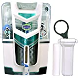 Aquaultra 14Stage A1025 Ro+Uv+Uf Alkaline Tds Controller Water Purifier ,White
