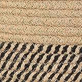 CHICVITA Large Jute Basket Woven Storage Basket