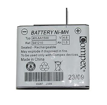 Amazon.com: Compex - Batería recargable para estimuladores ...