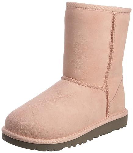 UGG Australia Kids T Classic-II Boot, Baby Pink, 6.5 UK