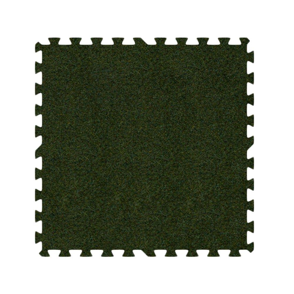 Alessco Eva発泡ゴム酷使プレミアムソフトカーペットグラスグリーン 18' x 18' SCGG1818 18' x 18'  B00AWQ5CH8