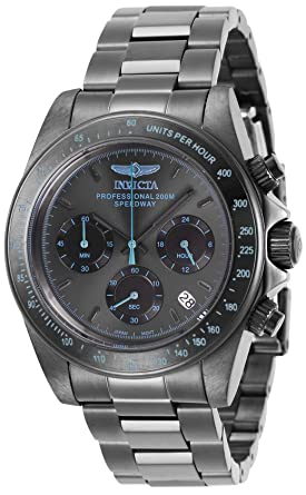 601d4cc4d Image Unavailable. Image not available for. Color: Invicta Speedway  Chronograph Black Dial Men's Watch 27772