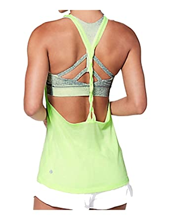 7a9d470304 Lululemon athletica Women s Green Twist and Toil Tank Size 10 at ...