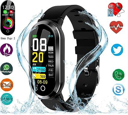 Amazon.com: Reloj inteligente, rastreador de actividad ...