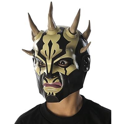 Rubie's Costume Star Wars Savage Opress Child's Vinyl 3/4 Mask: Toys & Games