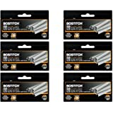 "Value Pack of 6 Boxes Stanley Bostitch B8 Powercrown Premium 1/4"" Staples (Stcrp21151/4)"